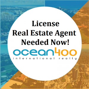 License Real Estate Agents Needed