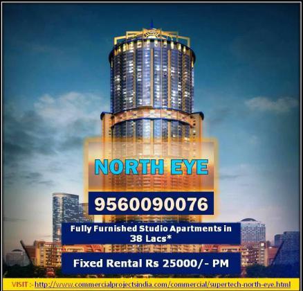 Supertech North Eye in Sector 74, Noida, 9560090076 - Price, Location Map, Floor Plan